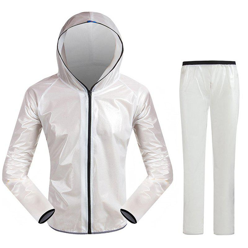 Unique Split Raincoat Ultra-Thin Skin Clothing