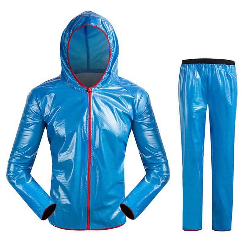 New Split Raincoat Ultra-Thin Skin Clothing