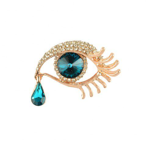 Shops Angel'S Teardrop Brooches Broches for Women Vintage Evil Eye Angle Tear Brooch Wedding Hijab Scarf Pin Up Buckle Feminin