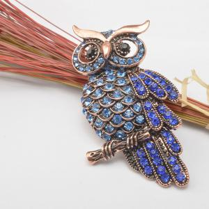 Retro Brooch Owl Clothing Accessories Hot Pin Charming Chic High-Grade Unisex Individuality Gift Hot Sale -