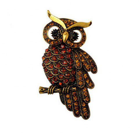 Outfit Retro Brooch Owl Clothing Accessories Hot Pin Charming Chic High-Grade Unisex Individuality Gift Hot Sale
