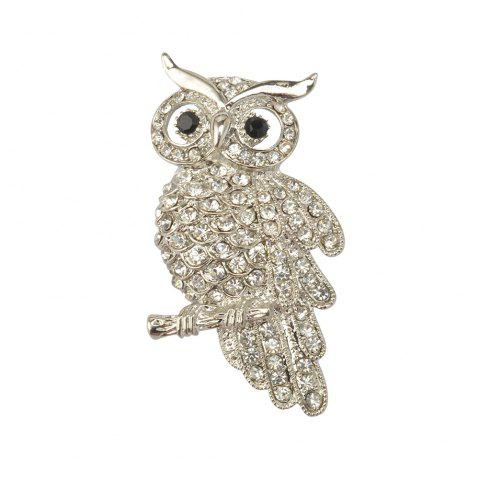 Discount Retro Brooch Owl Clothing Accessories Hot Pin Charming Chic High-Grade Unisex Individuality Gift Hot Sale