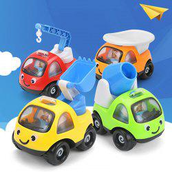 Mini Pull Back  Cartoon Cars  High Quality Funny Pull Back Sand Tools Truck Kids Vehicles Children Racing Car Mod -