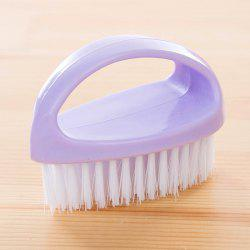 DIHE Egg Shape Multifunctional Pappus Cleaning Brush Hand Shank -