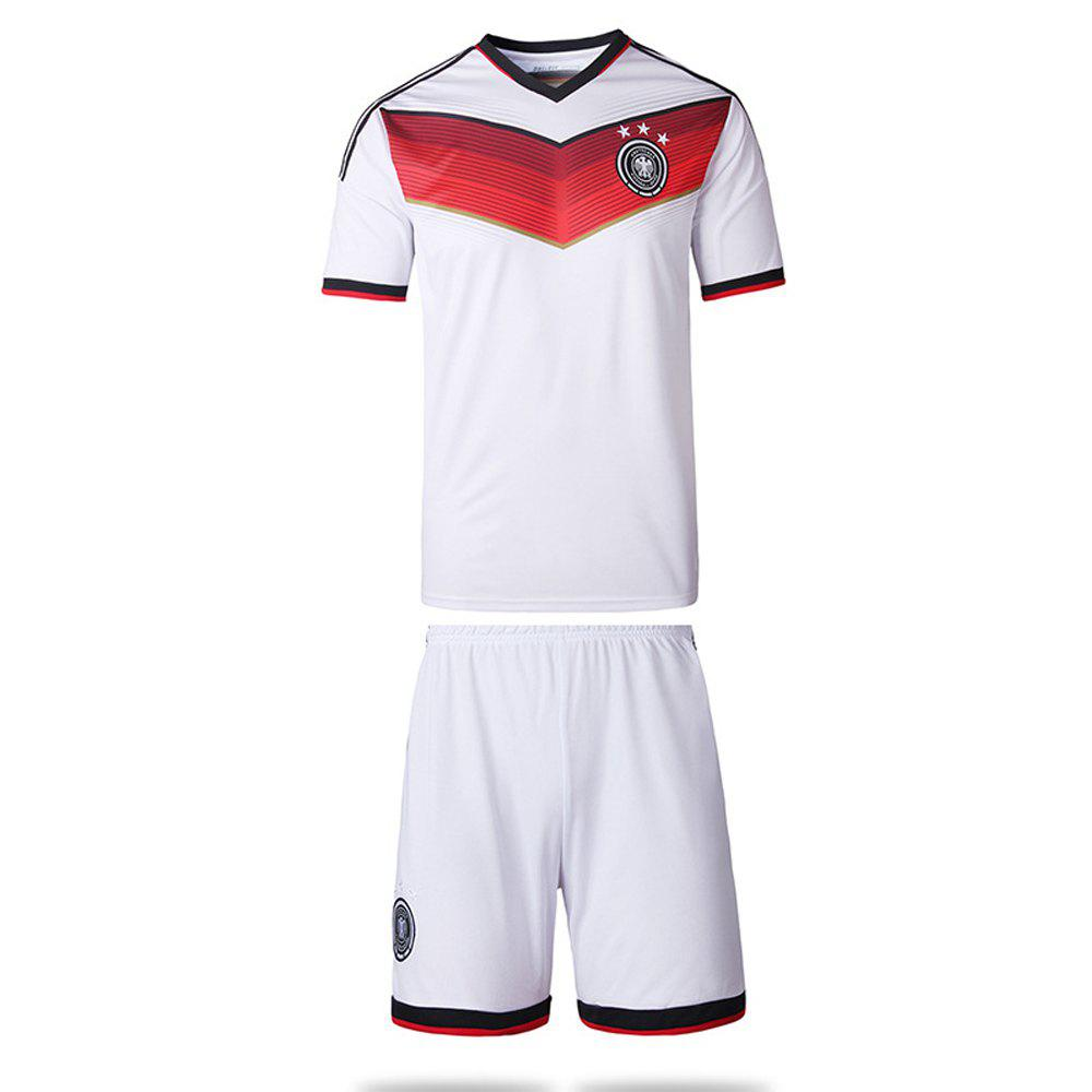 Outfits Men'S Football Jerseys T-Shirt and Shorts