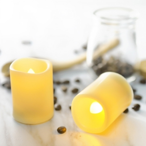 Set of 12pcs Flameless LED Candle with Timer -