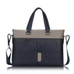Men's Briefcase Fashion HandbagComputer Bag HandbagTide15099 Cross Section -