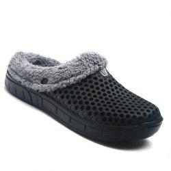 Men Winter Slippers Casual Warm Slip on Comfort Leisure Footwear Shoes -