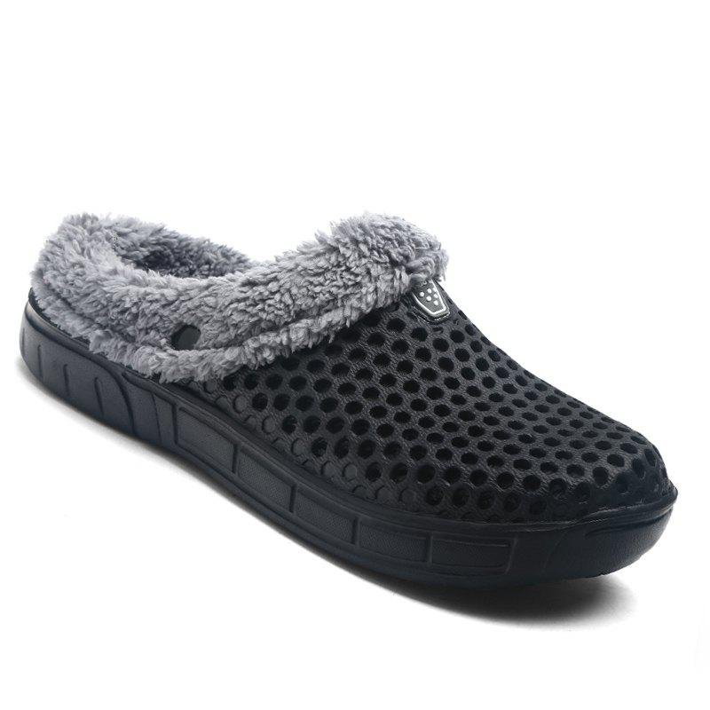 Best Men Winter Slippers Casual Warm Slip on Comfort Leisure Footwear Shoes