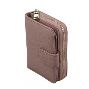 Fashion Women Genuine Leather Wallets Mini Cowhide Bag Card Holder -