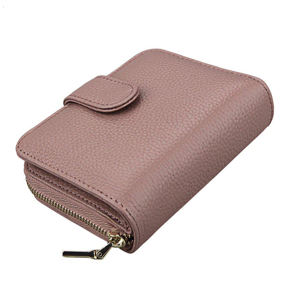 Shop Fashion Women Genuine Leather Wallets Mini Cowhide Bag Card Holder