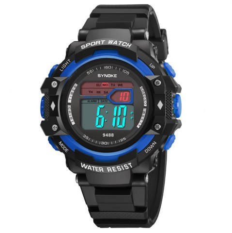 Sale SYNOKE 9488 Student Fashion Sports Multi-Function Electronic Watch