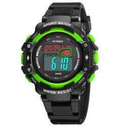SYNOKE 9488 Student Fashion Sports Multi-Function Electronic Watch -