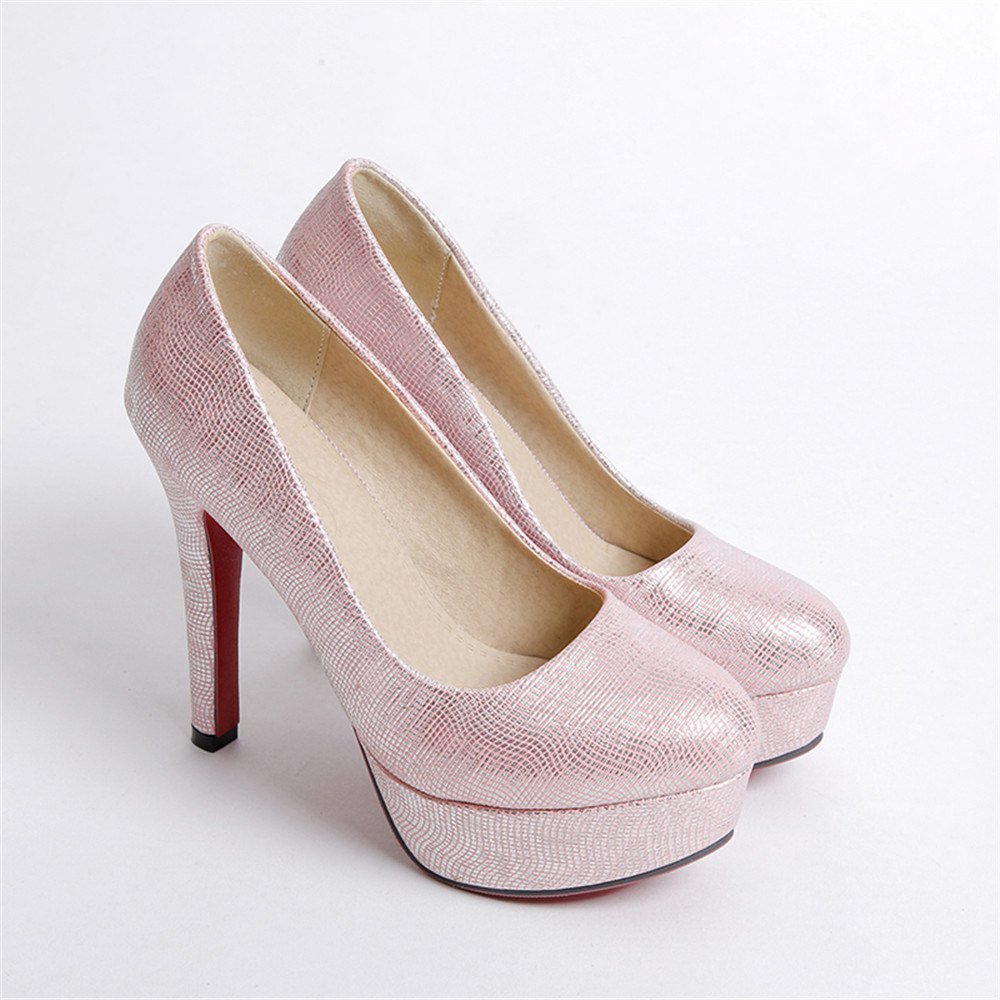 Outfits Miss Shoes A16 Round Head Thin and Elegant Single Shoes
