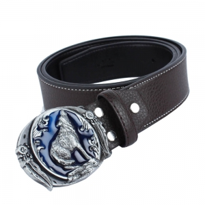 Wolf Belt Leather -