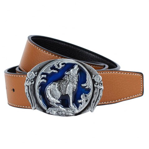 Cheap Wolf Belt Leather