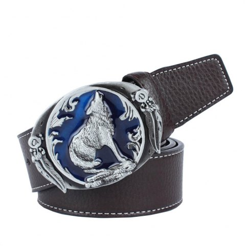Sale Wolf Belt Leather