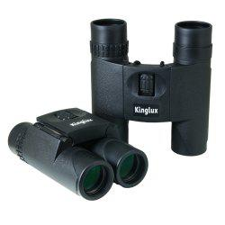 Kinglux Optics 10x25mm Fully Rubber Amoured Compact Binocular -