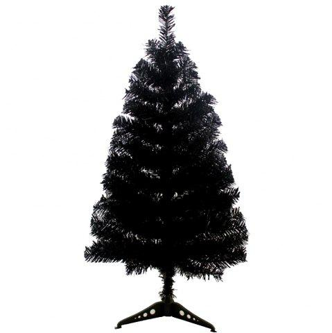 Hot 90CM Black Christmas Tree Christmas Tree Decorated with Gifts