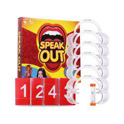 The United States Says Speak Out Game Christmas Toy Spoof -