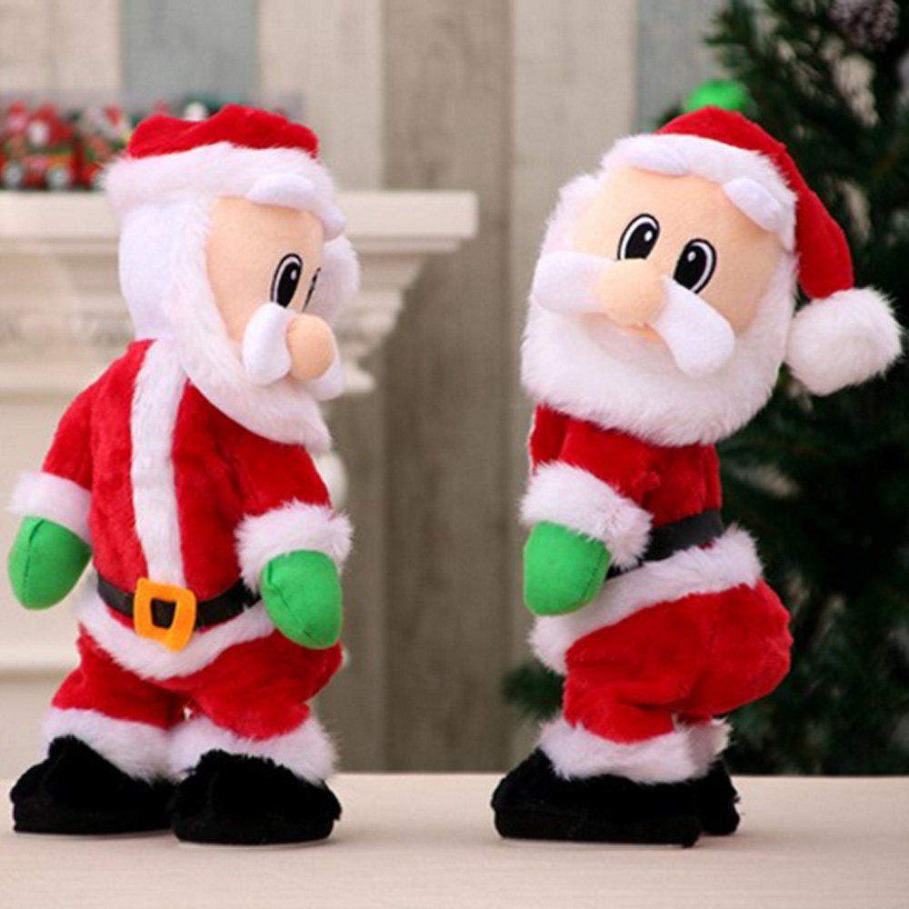 Affordable Electric Plush Spanking Santa Claus
