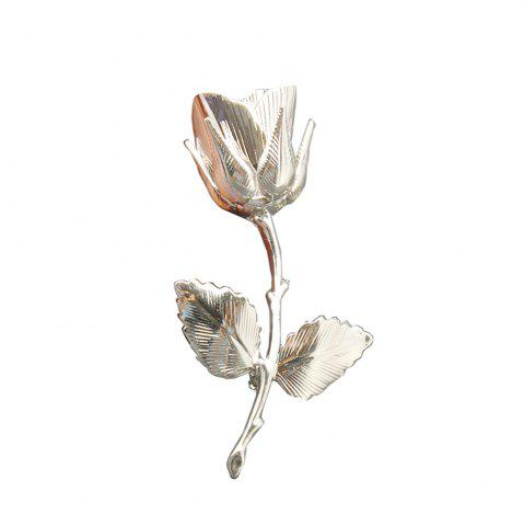 Latest Vintage Rose Brooches for Women Elegant Brooches & Pins High Quality Fashion Jewelry Copper Brooch