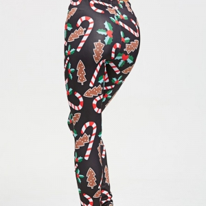 Crutches Printed Leggings -