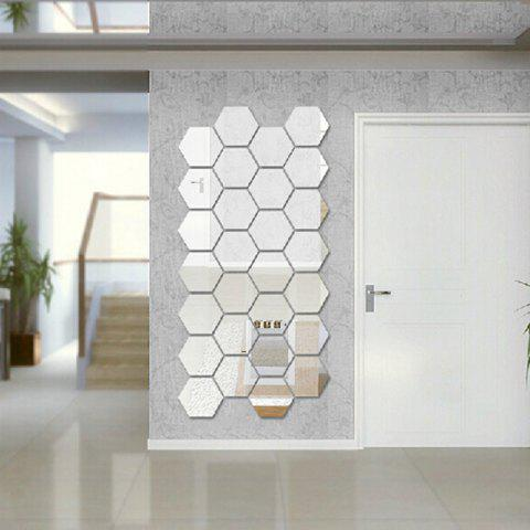 Superieur Cheap Hexagon 3D Art Diy Mirror Wall Stickers For Home Wall Decal