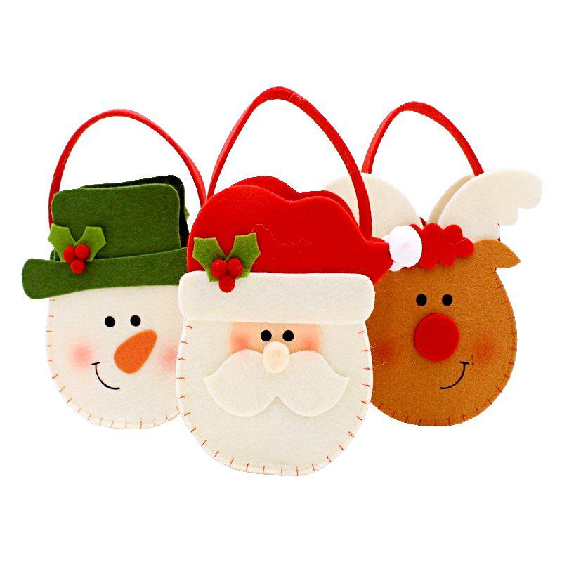 Shop 3pcs Good Quality Christmas Candy Bags Gift Bags