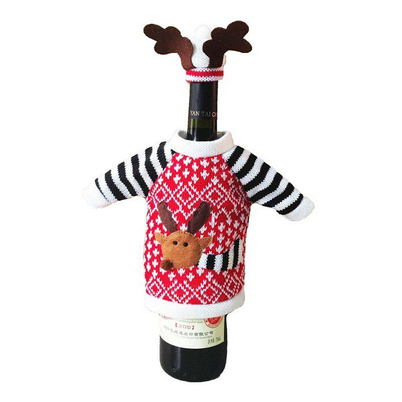 New 1pc Good Quality Christmas Bottle Sleeve