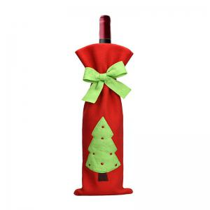3pcs Good Quality Christmas Wine Bottle Slipcovers -
