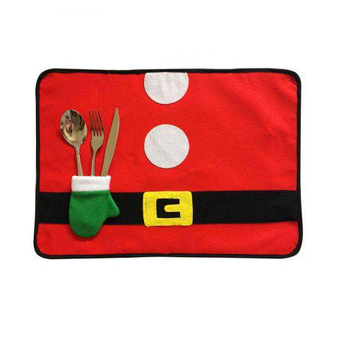 Affordable 4pcs Good Quality Christmas Placemat Meal Mat