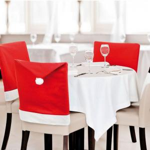 4pcs Good Quality Christmas Chair Covers -