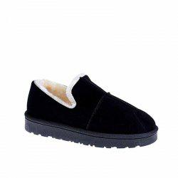 Cashmere Flat Bottomed Snow Boots -