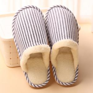 Women Winter Slippers Casual Warm Comfort Leisure Slip on Shoes -
