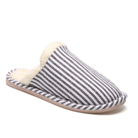 Discount Women Winter Slippers Casual Warm Comfort Leisure Slip on Shoes