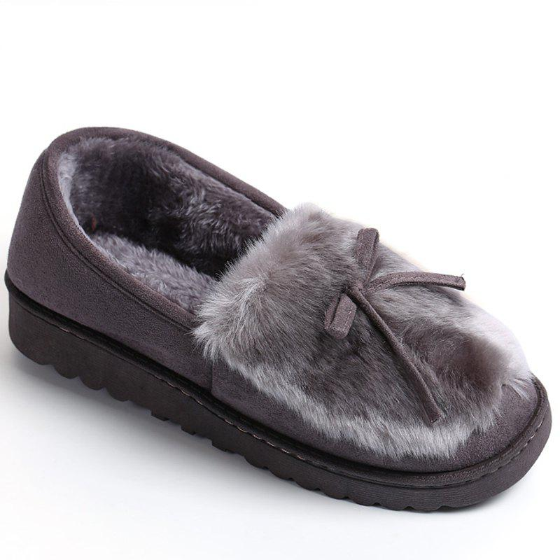 Affordable Women Winter Cute Slippers Casual Warm Comfort Leisure Slip on Shoes