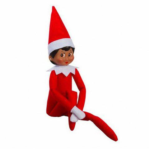 Discount Cute Kids Christmas Gift Elf on the Shelf Plush Doll Toy
