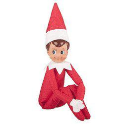Cute Kids Christmas Gift Elf on the Shelf Plush Doll Toy -