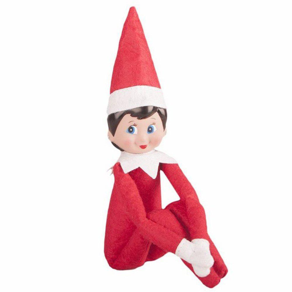 Chic Cute Kids Christmas Gift Elf on the Shelf Plush Doll Toy