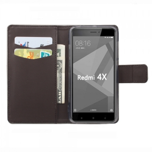 Flip Case for Xiaomi Redmi 4X Phone Wallet Leather Case -