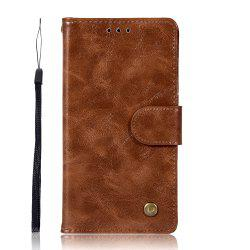 Upscale Vintage Pattern Flip PU Leather Wallet Case for Moto C 2017 -