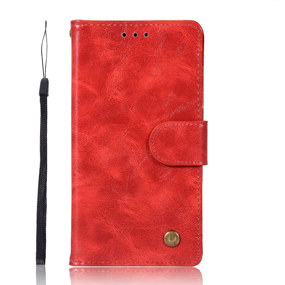 Unique Upscale Retro Pattern Flip PU Leather Wallet Case for Moto C 2017