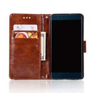 Upscale Retro Pattern Flip PU Leather Wallet Case for Huawei P10 Lite -