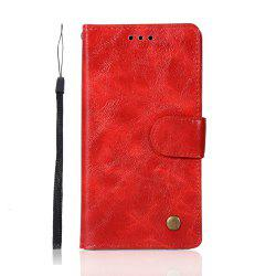 Upscale Vintage Pattern Flip PU Leather Wallet Case for Huawei P10 Lite -