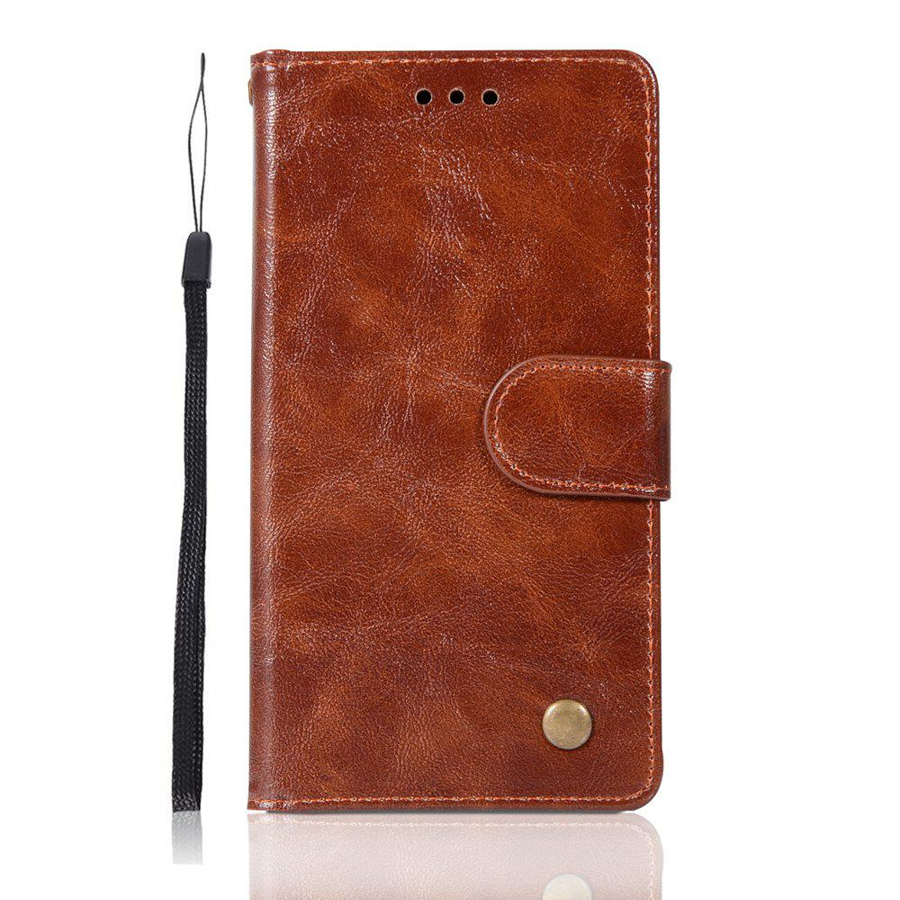 Chic Upscale Retro Pattern Flip PU Leather Wallet Case for Huawei P10 Lite