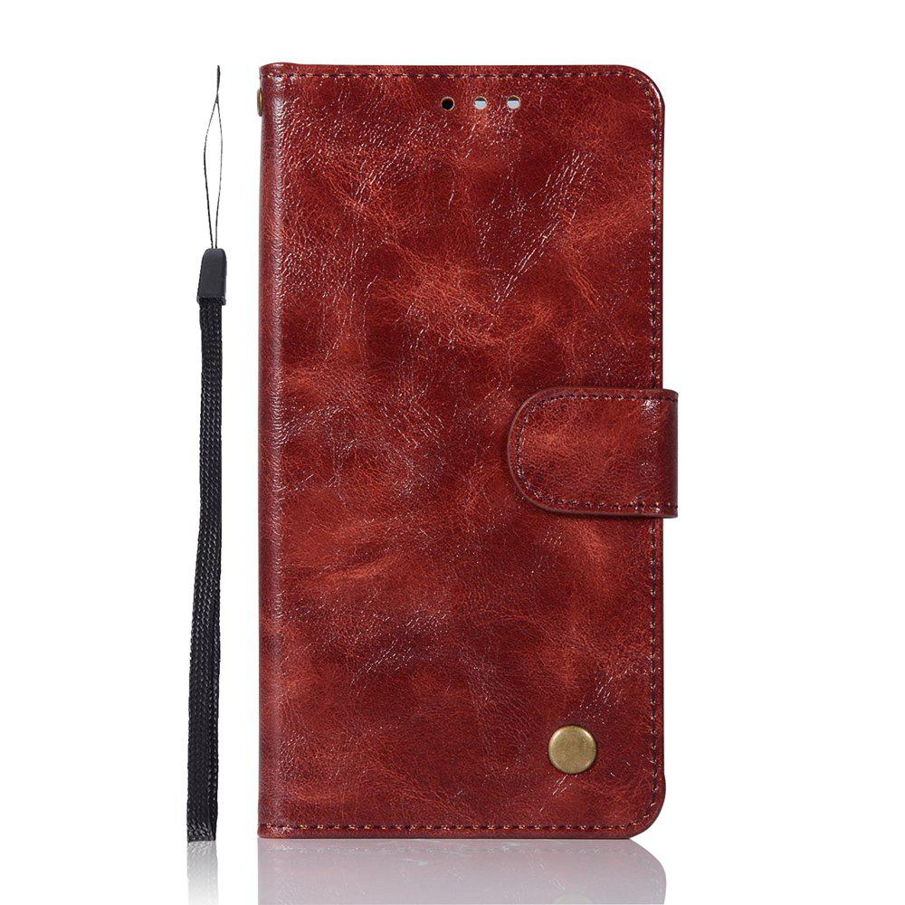 Shop Upscale Retro Pattern Flip PU Leather Wallet Case for Huawei P10 Plus