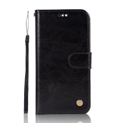 Upscale Retro Pattern Flip PU Leather Wallet Case for Huawei Honor V9 -