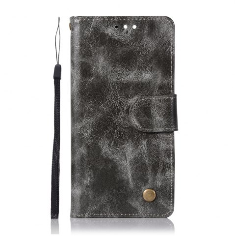 Outfit Upscale Retro Pattern Flip PU Leather Wallet Case for Huawei Honor 9