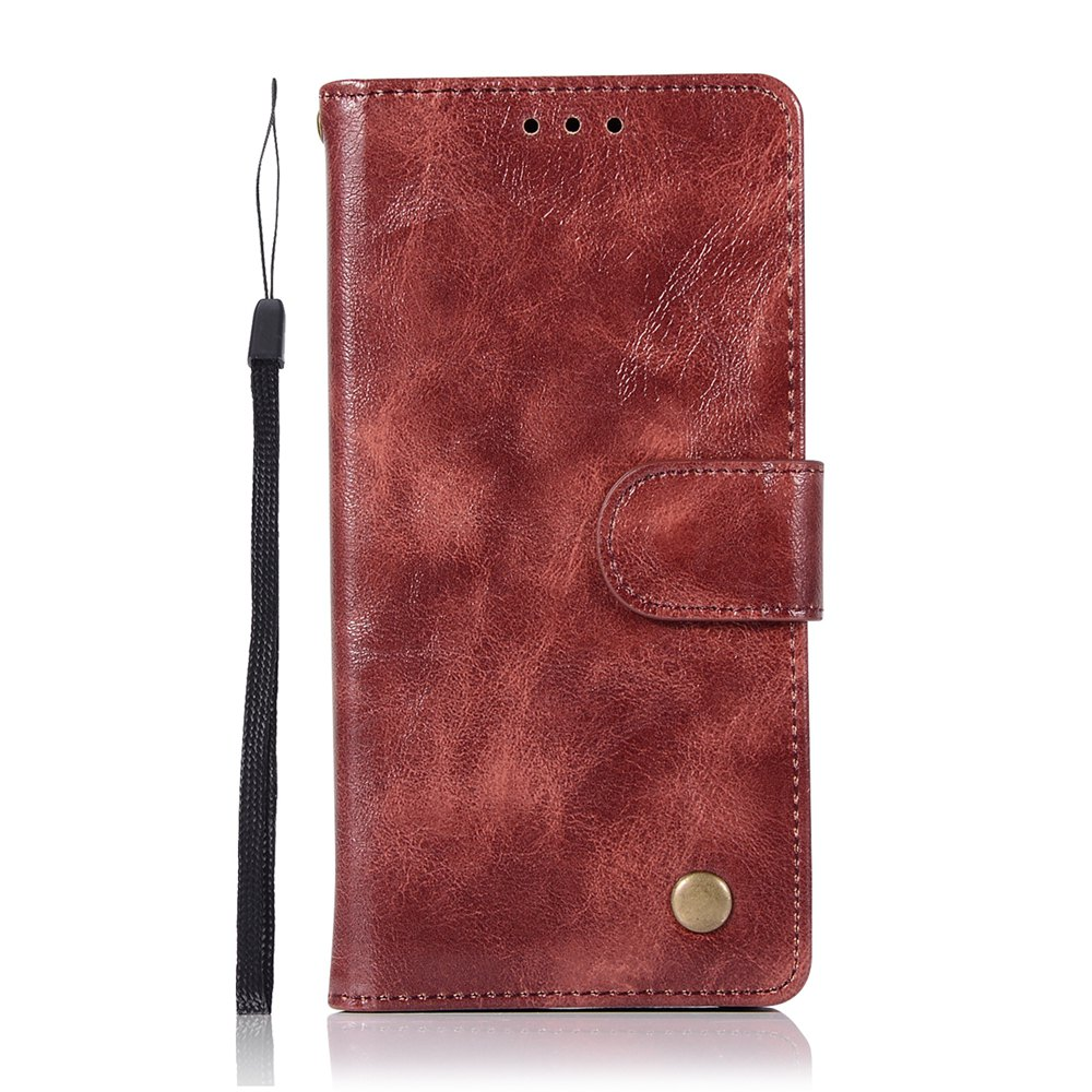 Outfits Upscale Retro Pattern Flip PU Leather Wallet Case for Huawei Honor 9